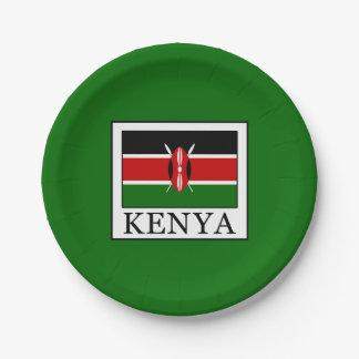 Kenya Paper Plate