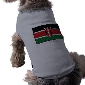 Kenya Plain Flag Dog Clothes