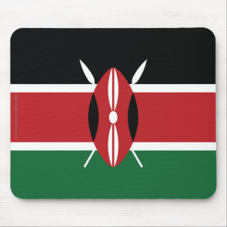 Kenya Plain Flag Mouse Pad