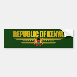 Kenya Pride Bumper Sticker