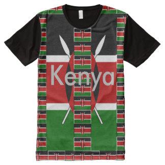 Kenya Raha Hakuna Matata All-Over Print T-shirt