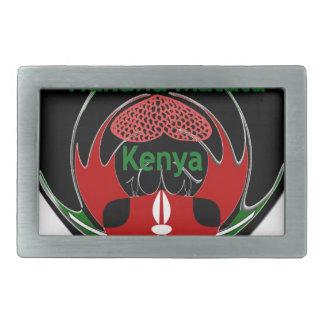 Kenya Rectangular Belt Buckle