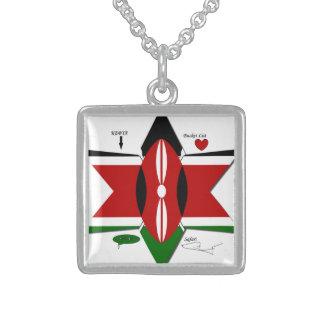 Kenya Safari Sterling Silver Necklace