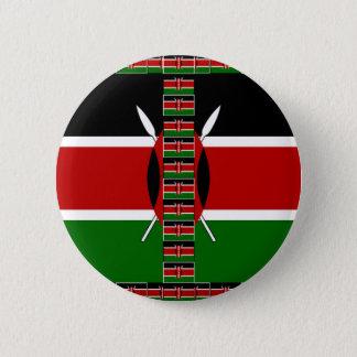 Kenya Seamless Flags border frames Button