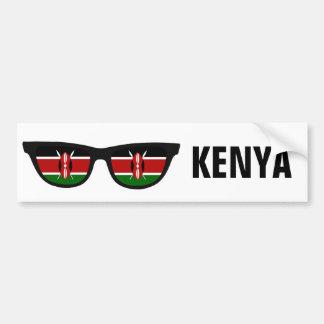 Kenya Shades custom text & color bumpersticker Bumper Sticker