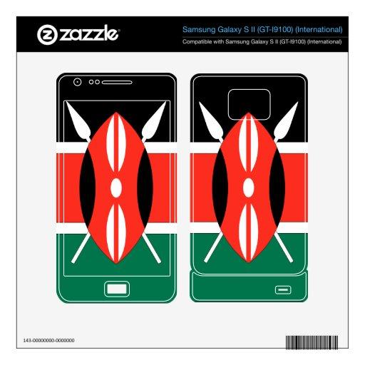Kenya Samsung Galaxy S II Skin