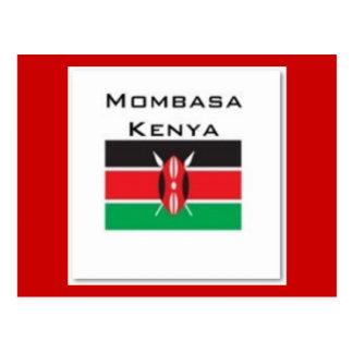 Kenya T-Shirt (Customized) Postcards