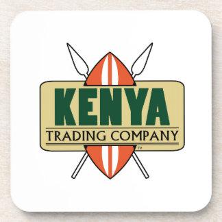 KENYA Trading Company logo Coaster