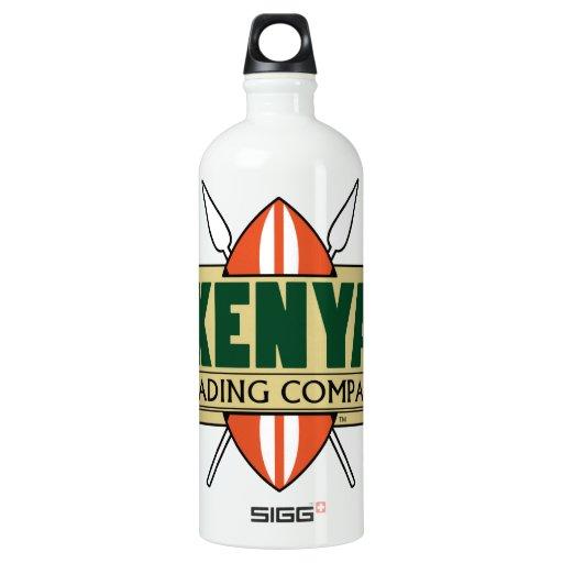 Water Bottle Kenya: KENYA Trading Company Logo SIGG Traveler 1.0L Water Bottle