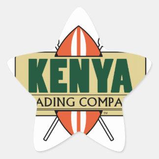 KENYA Trading Company logo Star Sticker