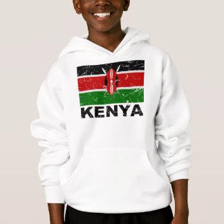 Kenya Vintage Flag Hoodie