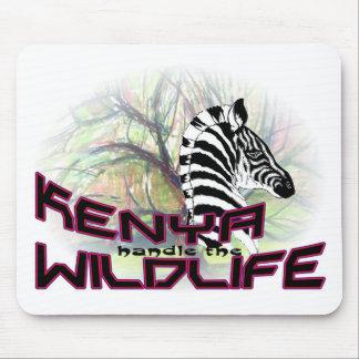 Kenya Wildlife Mouse Pad
