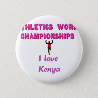 Kenya World's Athletic Champions Pinback Button