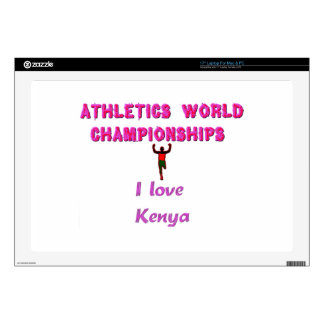 "Kenya World's Athletic Champions.png 17"" Laptop Decal"