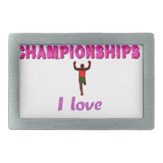 Kenya World's Athletic Champions.png Rectangular Belt Buckle
