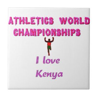 Kenya World's Athletic Champions Tile