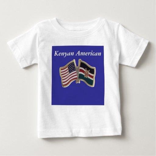 Kenyan American Baby T-Shirt