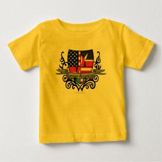 Kenyan-American Shield Flag Tee Shirt