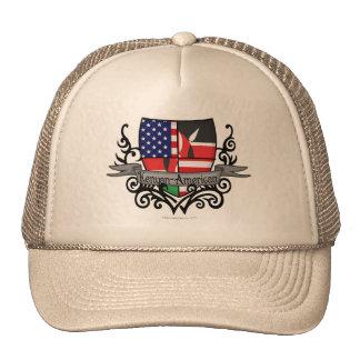 Kenyan-American Shield Flag Trucker Hat