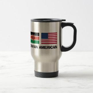 Kenyan American Travel Mug