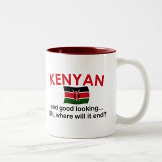 Kenyan apuesto taza de café