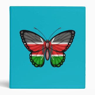 Kenyan Butterfly Flag Vinyl Binders