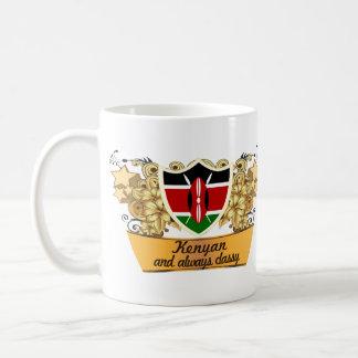 Kenyan con clase tazas