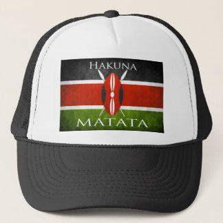 Kenyan Flag- Hakuna Matata Trucker Hat