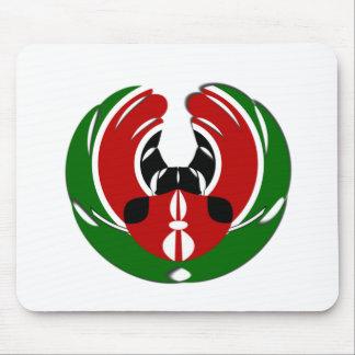 Kenyan Flag Mouse Pad