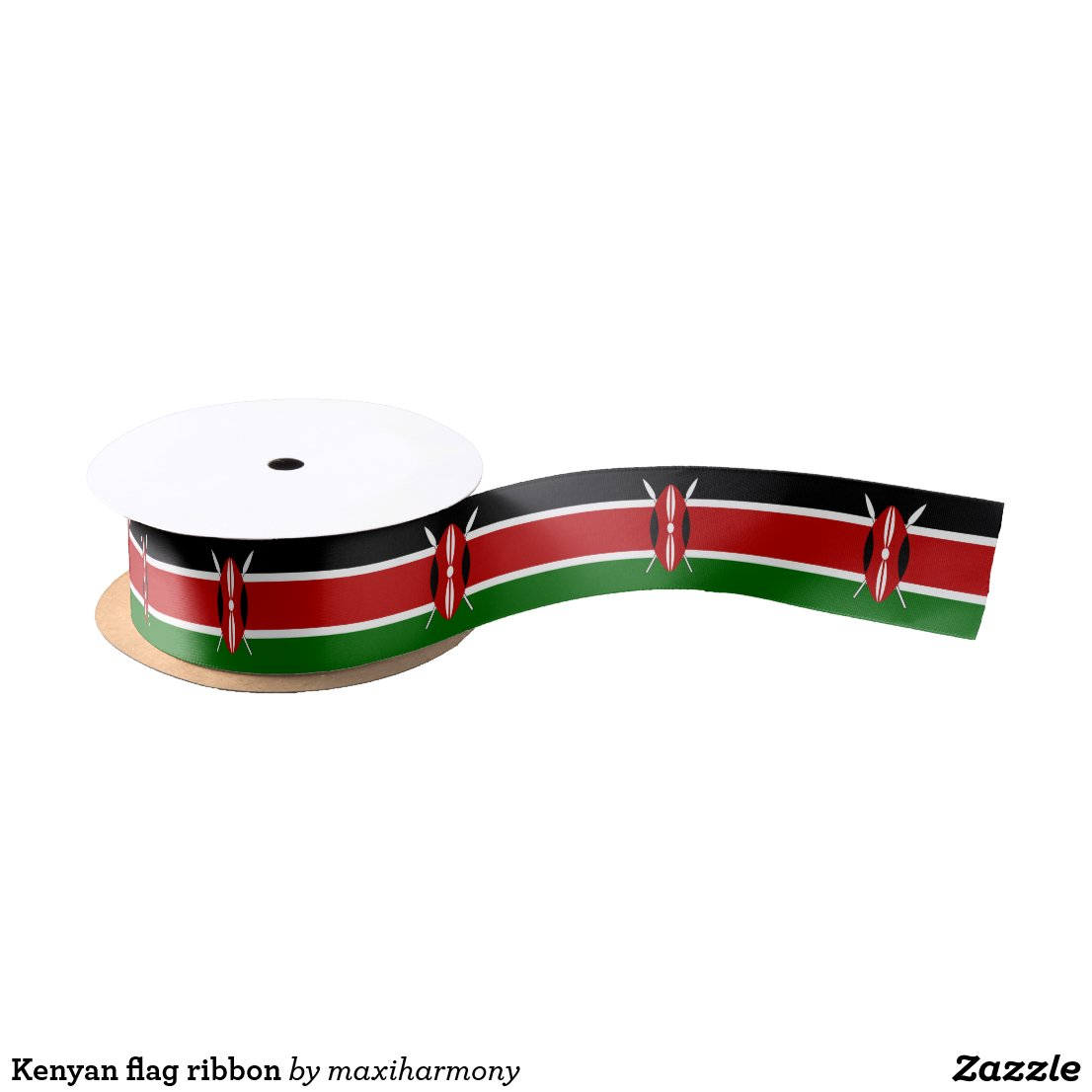 Kenyan flag ribbon
