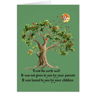Kenyan Nature Proverb Card