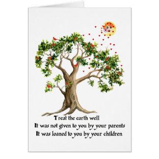 Kenyan Nature Proverb Card