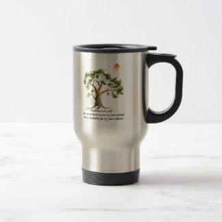Kenyan Nature Proverb 15 Oz Stainless Steel Travel Mug