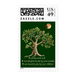 Kenyan Nature Proverb Stamp