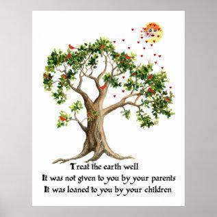 Kenyan Nature Proverb Poster at Zazzle