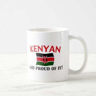 Kenyan orgulloso taza