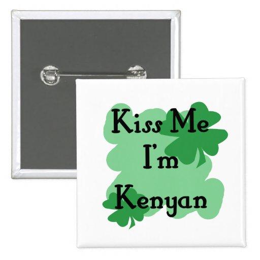 Kenyan Pinback Button