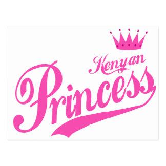 Kenyan Princess Postcard