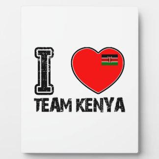 KENYAn sport designs Photo Plaques