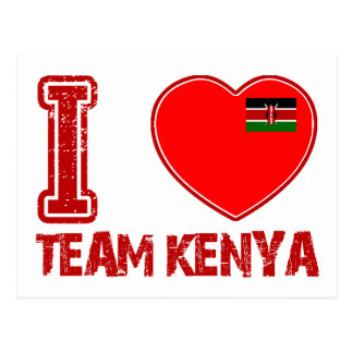 KENYAn sport designs Postcard