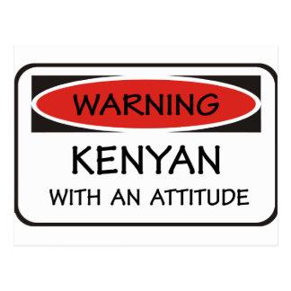 Kenyan With An Attitude Postcard