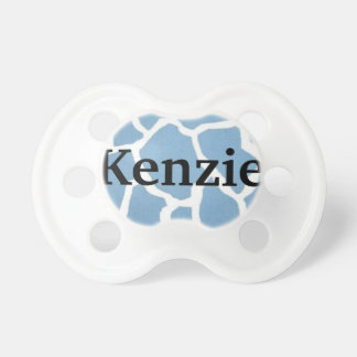 """Kenzie"" Custom Personalized Name Pacifier"