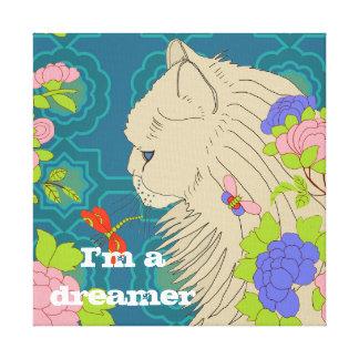 Kenzo el gato impresión en tela
