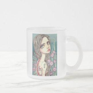 Kenzo Frosted Glass Coffee Mug