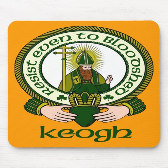 Keogh Clan Motto Mouse Pad