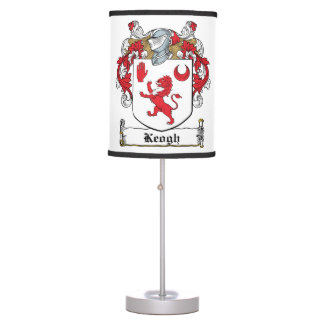 Keogh Family Crest Lamps
