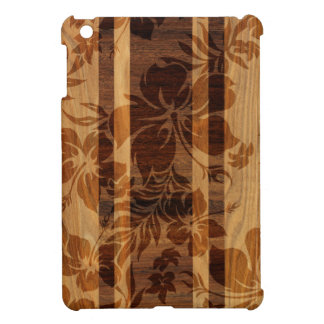 Keokea Beach Faux Wood Surfboard iPad Mini Cases