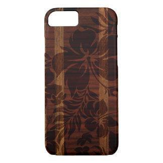 Keokea Beach Faux Wood Surfboard iPhone 7 Case