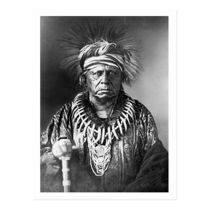 Keokuk ~ Sauk Chief 1847 Postcard