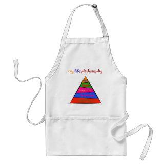 Kephalonissa - my life philosophy adult apron